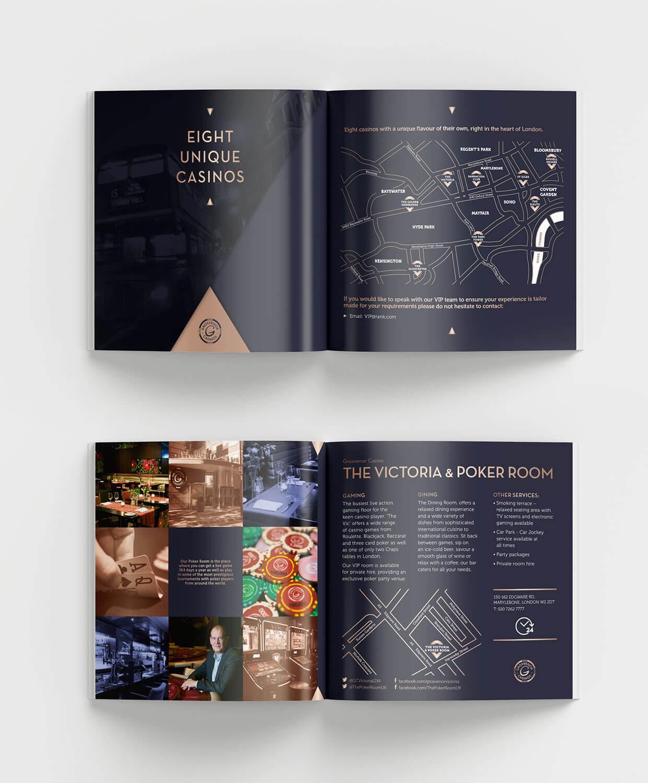 Grosvenor Casinos London Collection Brochure